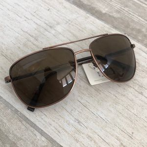 Fossil Liberty Brown sunglasses NWT MS4849v200